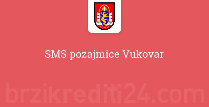 SMS pozajmice Vukovar