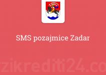 SMS pozajmice Zadar