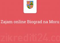 Zajam online Biograd na Moru