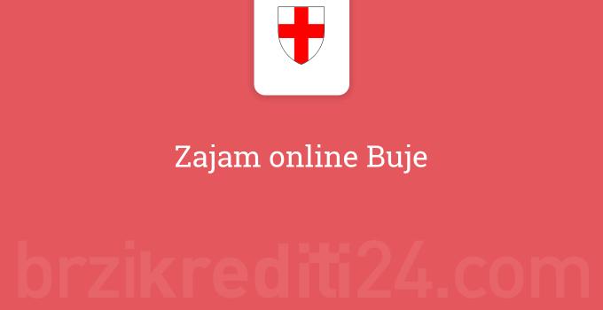 Zajam online Buje