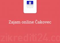 Zajam online Čakovec