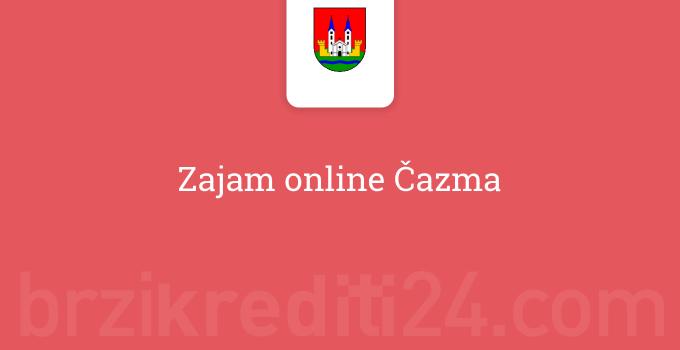 Zajam online Čazma