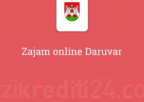 Zajam online Daruvar