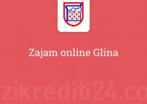 Zajam online Glina