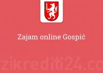 Zajam online Gospić
