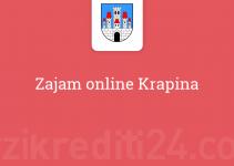 Zajam online Krapina