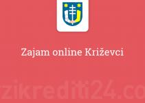 Zajam online Križevci