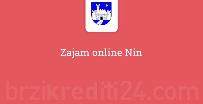 Zajam online Nin