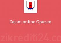 Zajam online Opuzen