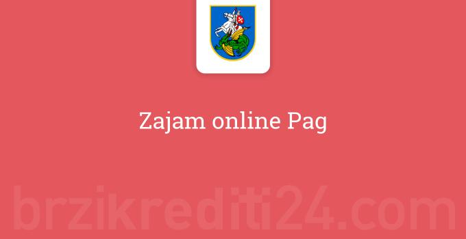 Zajam online Pag