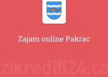 Zajam online Pakrac