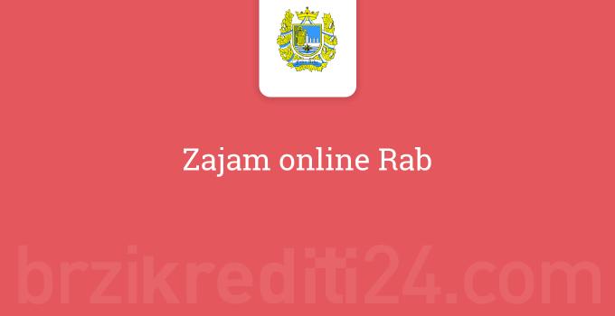 Zajam online Rab