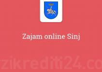 Zajam online Sinj