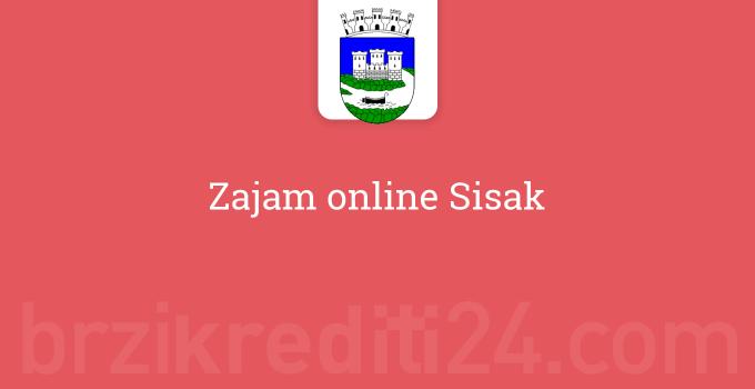 Zajam online Sisak