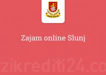 Zajam online Slunj