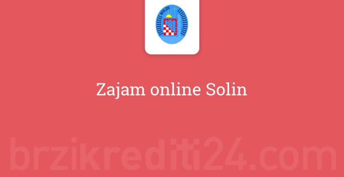 Zajam online Solin