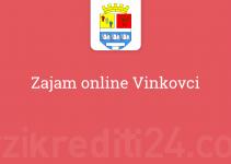 Zajam online Vinkovci