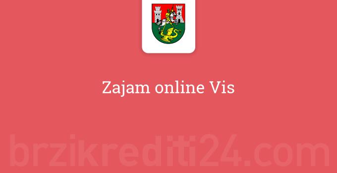 Zajam online Vis