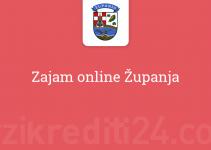 Zajam online Županja